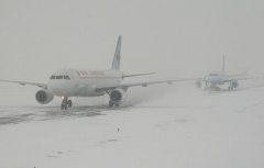 Flying in Winter