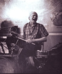 Laughing Drummer